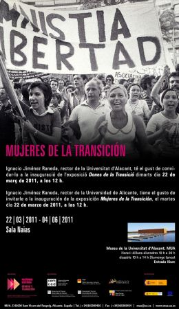 exhibition on women in transition