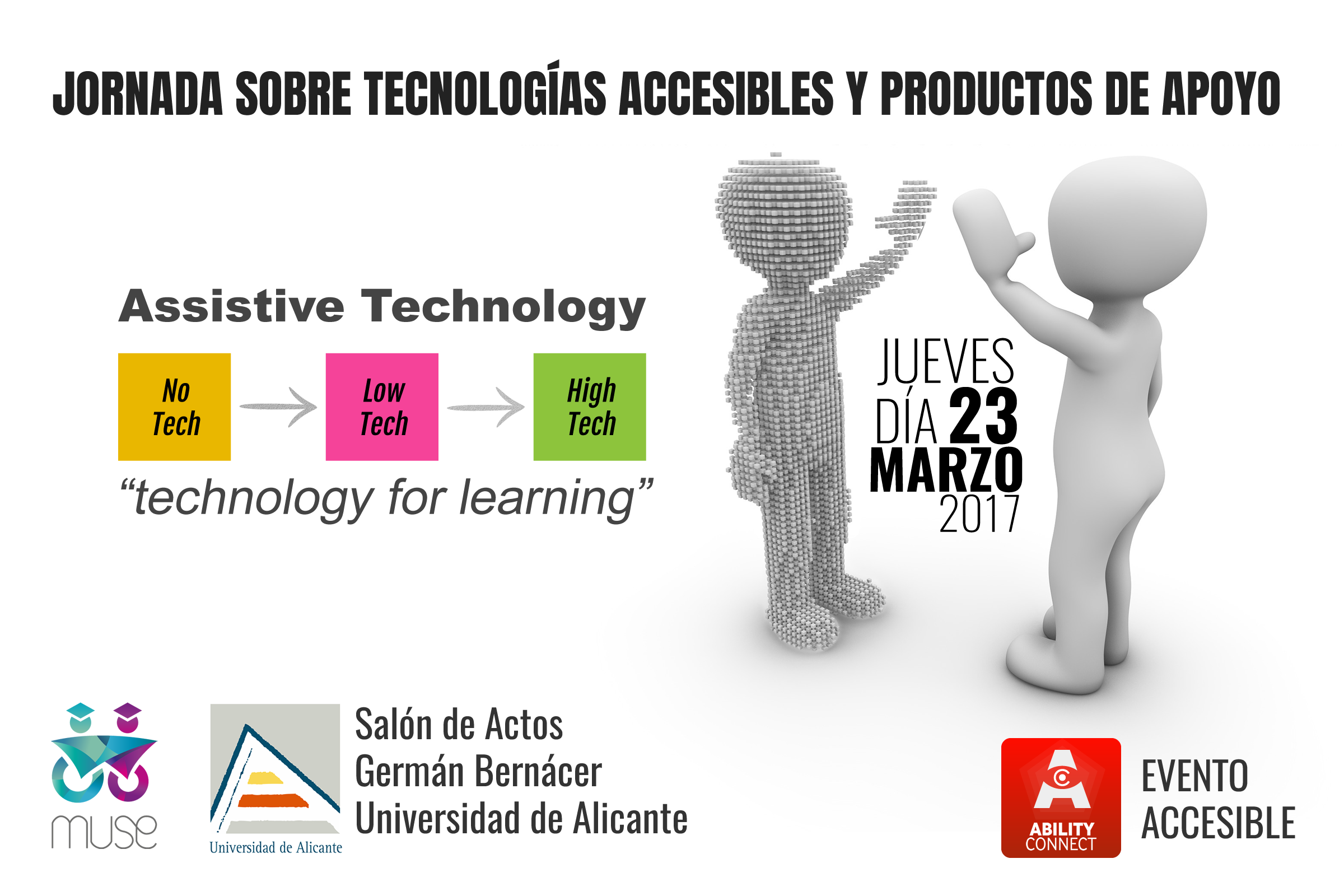 Poster Day on Accessible Technologies and Products of Support UA