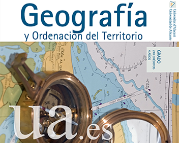 Degree in Geography and Territory Organization