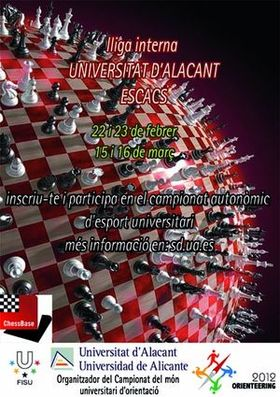 Poster of the IX Day of Chess 2011