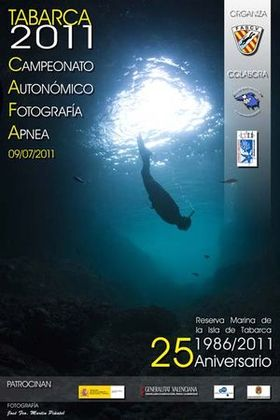 Poster of the Autonomic Championship of Photography Apnoea