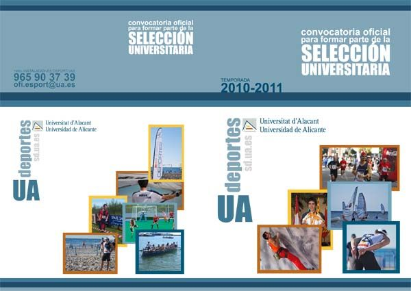 Obverse of the brochure of Selection UA