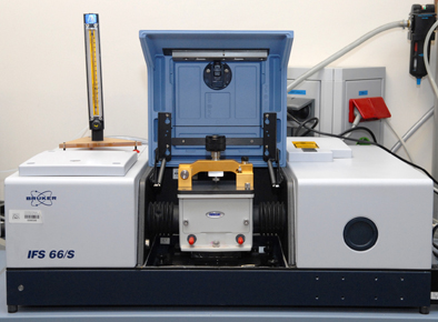 Espectroscopio FTIR
