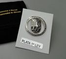 Pin shield UA of silver