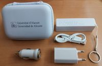 White Dutian power bank set