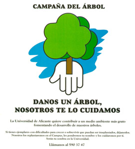 campaign poster from the tree