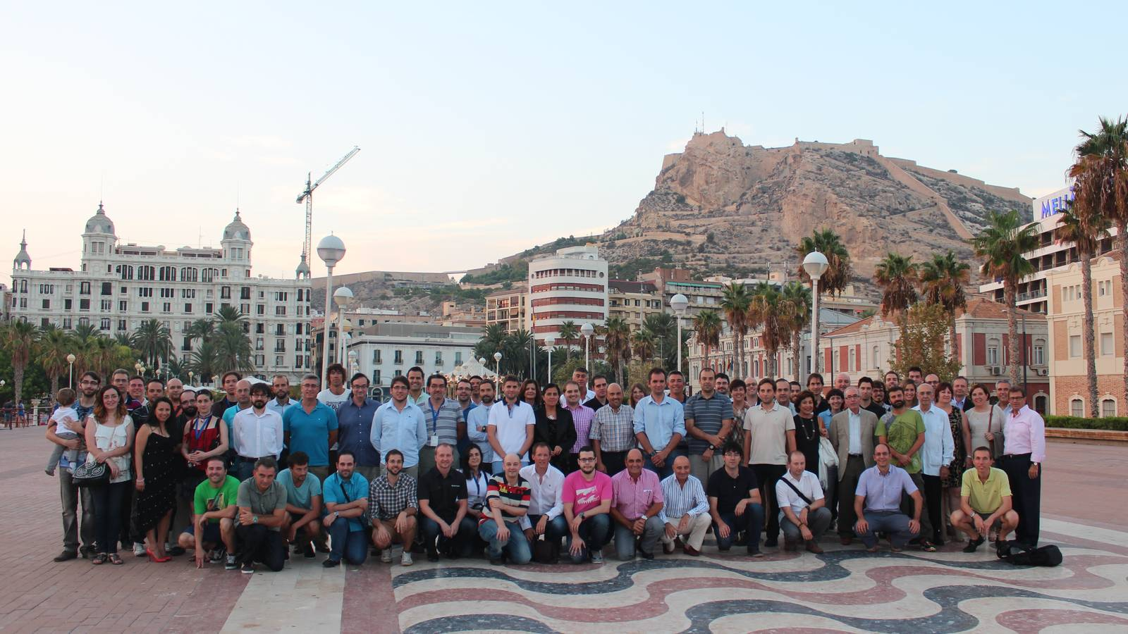 Group photo RECSI 2014