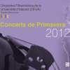 Concerts spring 2012 OFUA