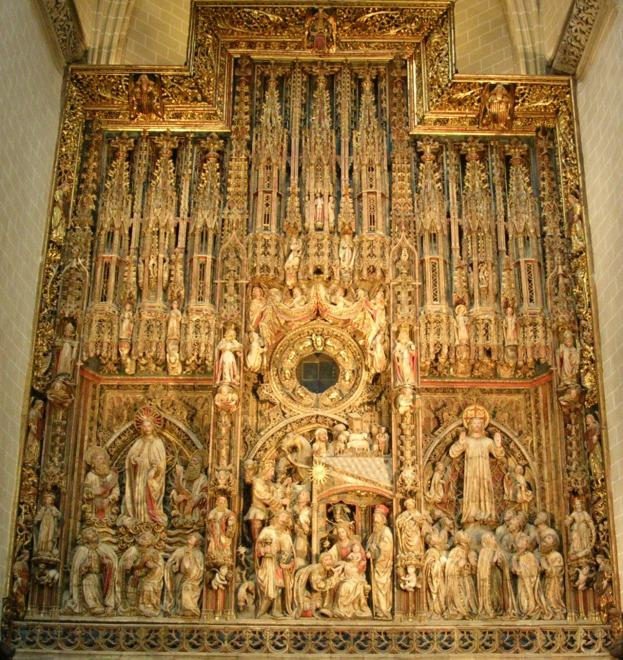 Zaragoza Cathedral Retable (Pere Johan, Francisco Gomar and Hans de Suabia, 1434-1480)