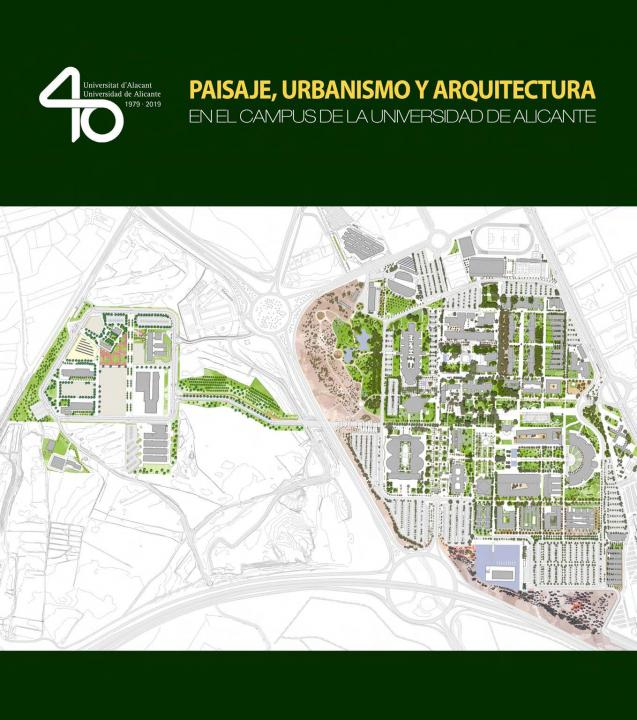 Publication on the landscape of the University of Alicante