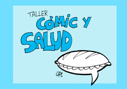 Folleto taller Cómic y Salud 2018