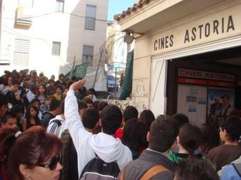 Entrada a los Cines Astoria