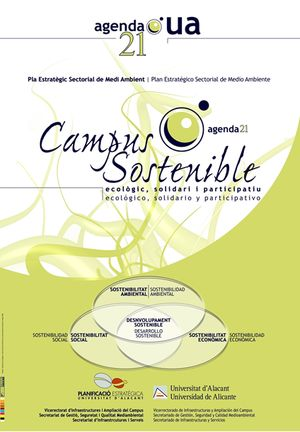 Cartel de Campus Sostenible