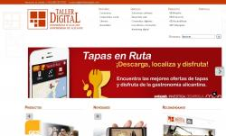 Sitio web de Taller Digital