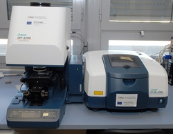 Microscopio FTIR