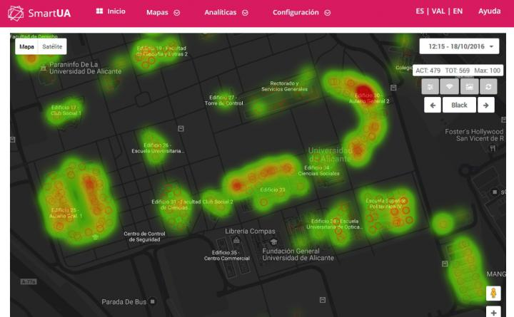 Datavizualization dashboard Smart Cities