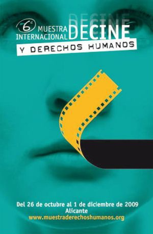 Cartell de la VI Mostra Internacional de cinema i Drets humans
