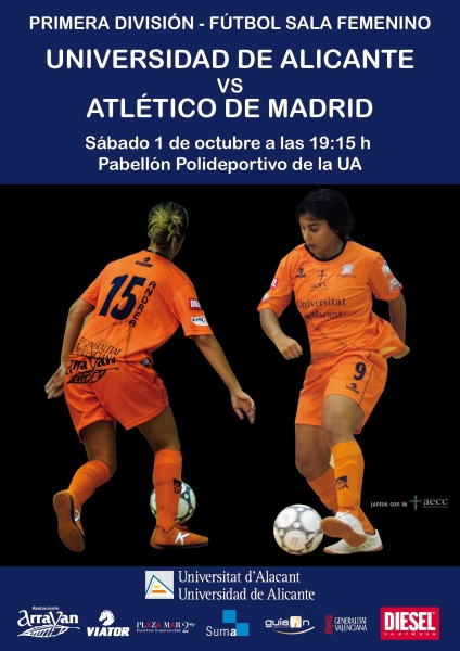 Cartell Fsf UA-At.Madrid